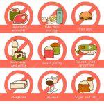 Saiba quais são os 10  alimentos a evitar durante a gravidez 🧀🍤🥛🐟🤰💙