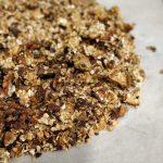 Granola de aveia e manteiga de amendoim 🥜🥣💙