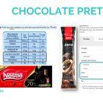 """Serão todos os """"chocolates pretos"""" semelhantes na sua composição nutricional e lista de ingredientes ??? 🍫💙"""