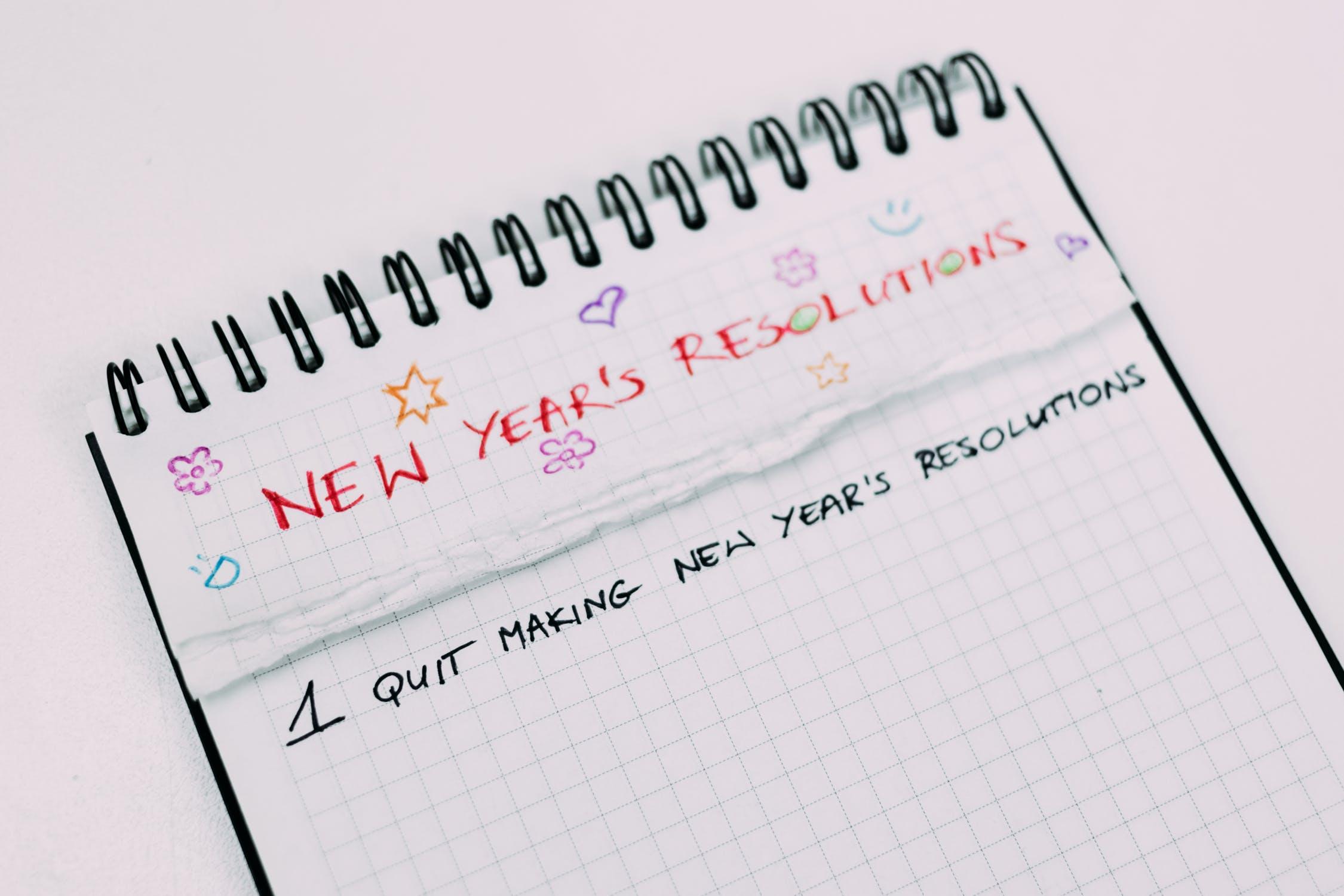 RESOLUÇÃO DE ANO NOVO OPERAÇÃO 👙 2020