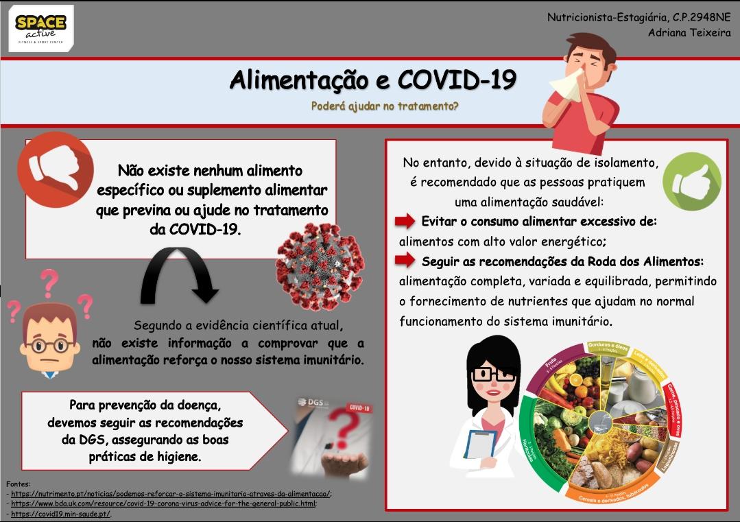 ALIMENTAÇÃO & COVID-19 🧐 | Poderá, a alimentação, auxiliar na prevenção ou tratamento ⁉️